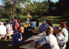 Gemeindefest im Pfarrgarten