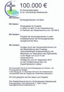 100T EUR Förderung